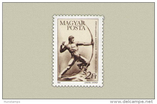 Hungary 1984. Botond Kisfaludy Stamp MNH (**) Michel: 3688 / 0.50 EUR - Ungarn