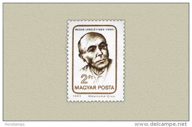 Hungary 1985. László Rudas Stamp MNH (**) Michel: 3741 / 0.50 EUR - Ungebraucht