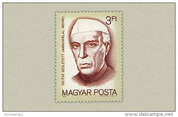 Hungary 1989. Nehru Stamp MNH (**) Michel: 4055 / 1 EUR - Ungebraucht