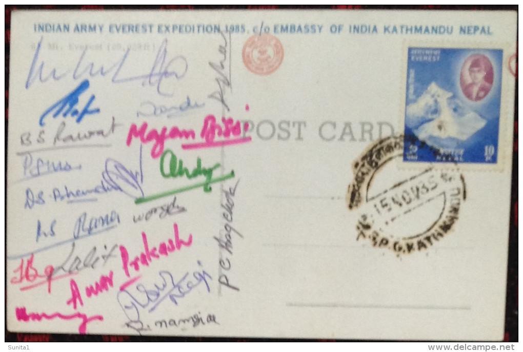 Himalaya,Everest,expedition,autograph,mountaineering,alpinism,signed,climbing - Climbing