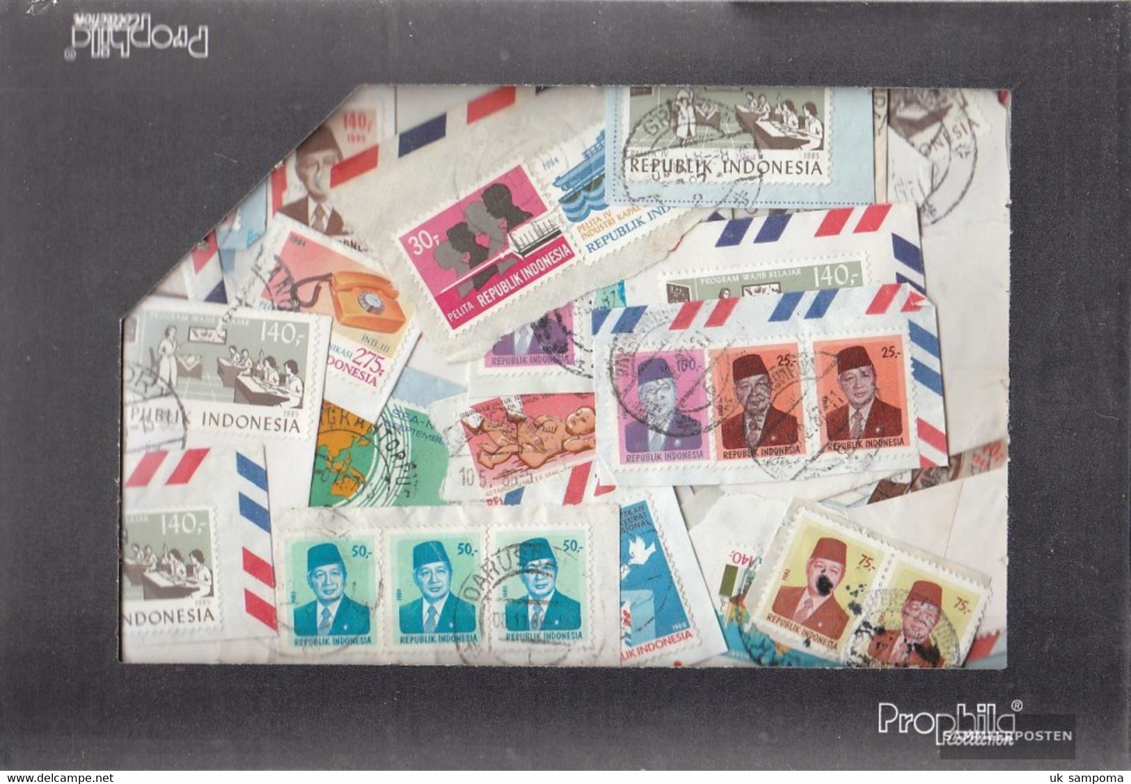 Indonesia 100 Grams Kilo Goods Fine Used / Cancelled With At Least 10% Special Stamps - Stamps