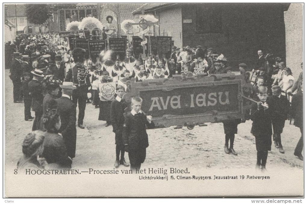 HOOGSTRAETEN 1918 Processie Van Het Heilig Bloed - Hoogstraten