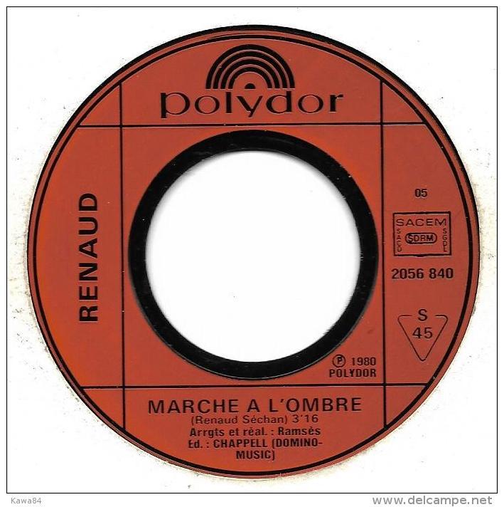 "Renaud  ""  Marche à L'ombre  "" - Vinyl Records"