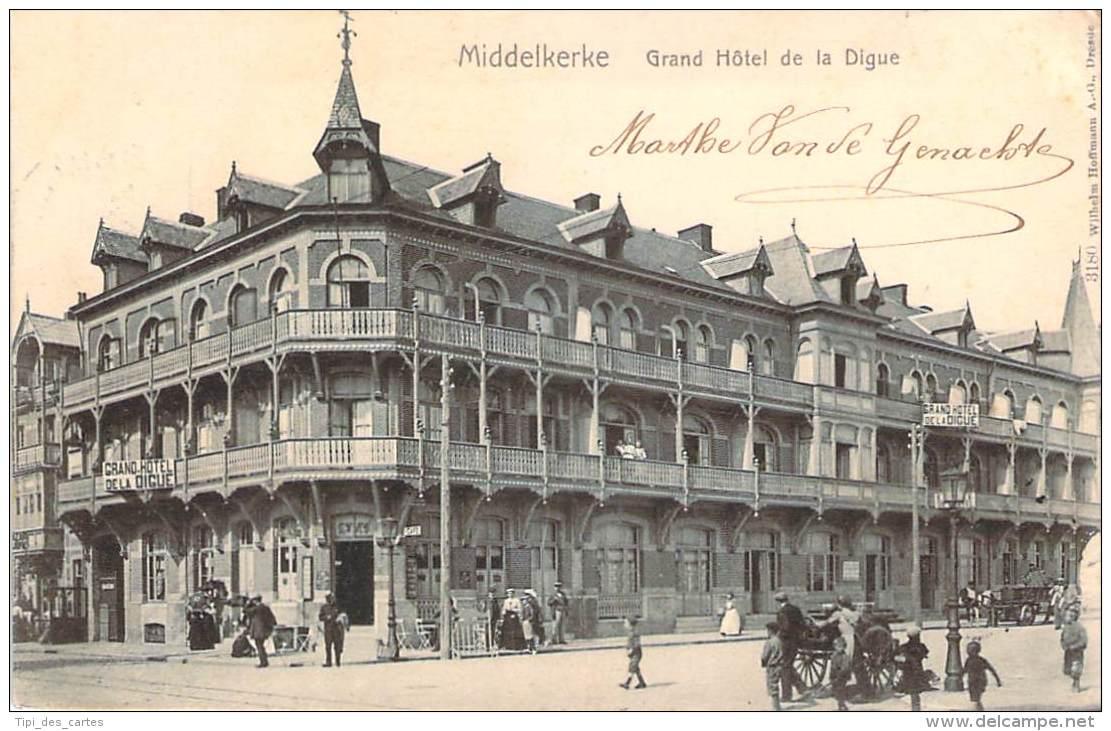 Belgique - Middelkerke - Grand Hôtel De La Digue - Middelkerke