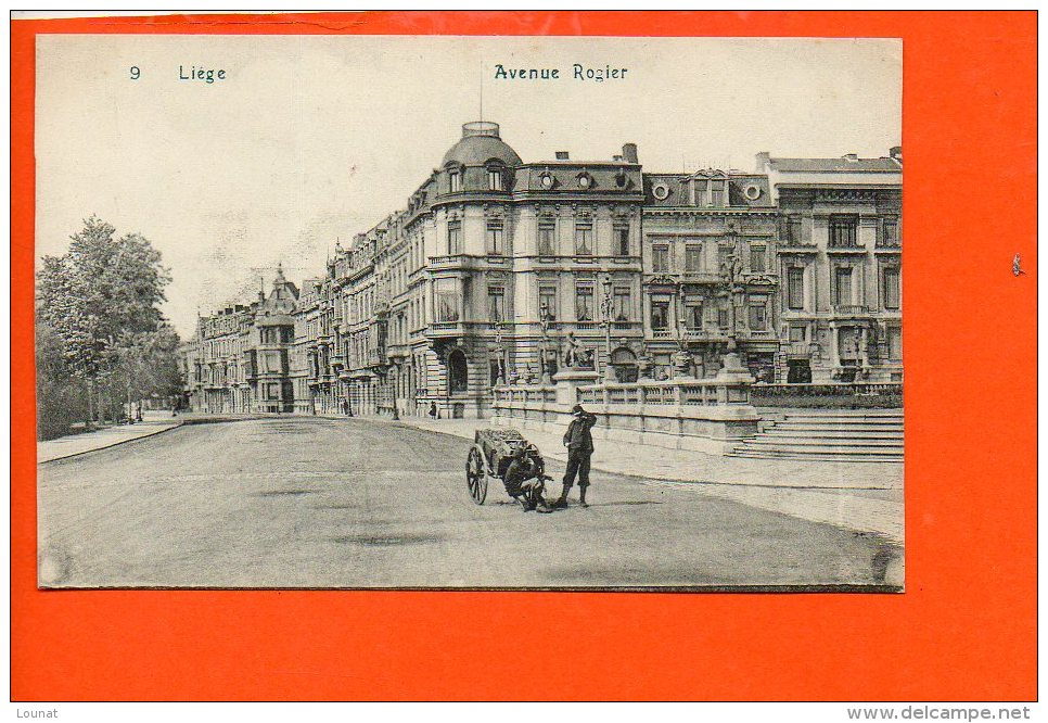 Liège - Avenue Rogier - Liege