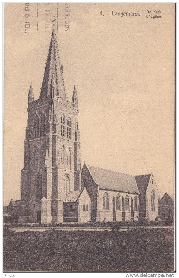 LANGEMARCK/L'église/ Réf:C4566 - Langemark-Poelkapelle