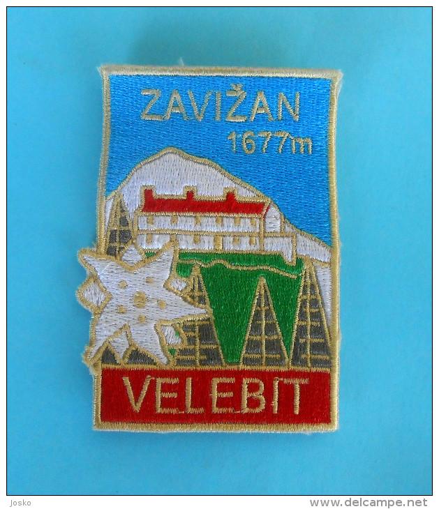 VELEBIT - ZAVIZAN Croatian Mountaineering Patch Climbing Alpinisme Bergsteigen Alpinismo Arrampicata Klettern EDELWEISS - Patches