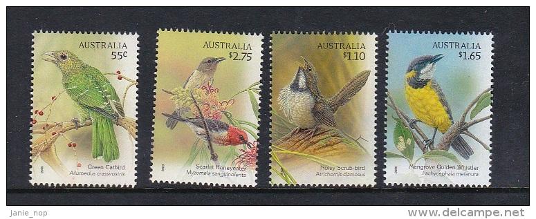 Australia 2009 Song Birds Set MNH - 2000-09 Elizabeth II