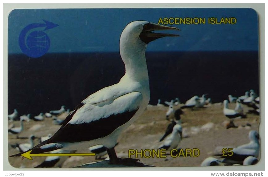 ASCENSION ISLANDS - GPT - £5 - 2CASA - - Used - Ascension (Insel)