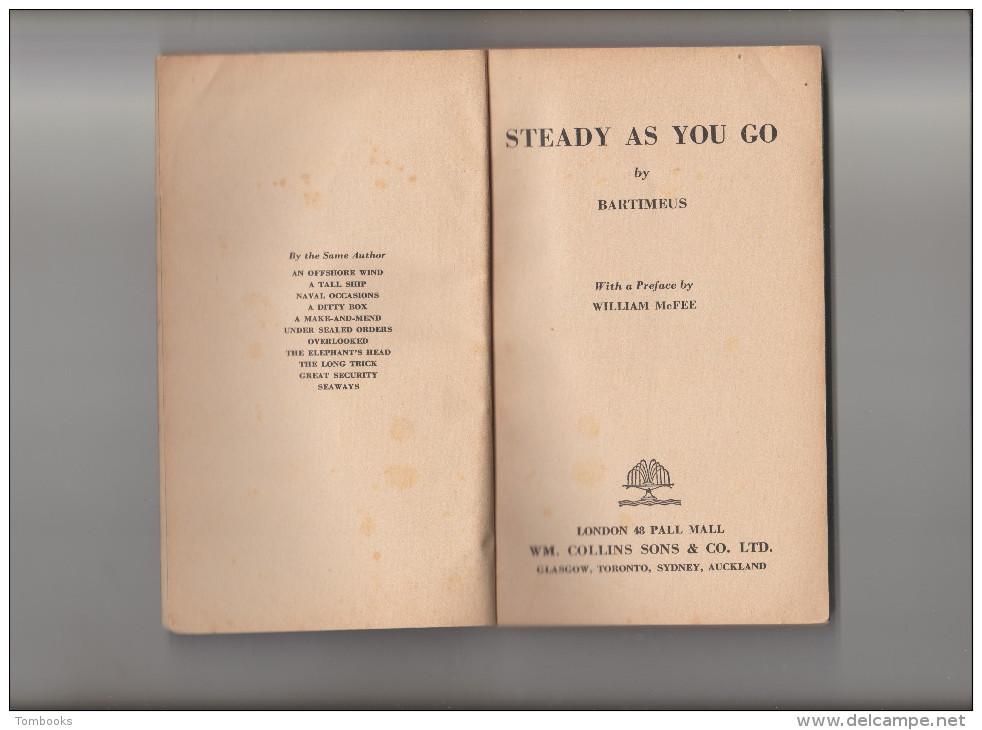 Livre - Steady As You Go - Bartimeus - 1943 - V.O - - Forces Armées Américaines