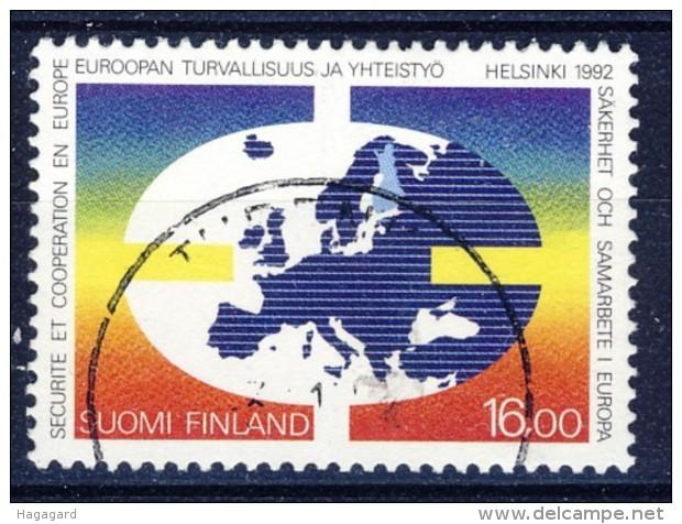 ##Finland 1992. European Cooperation. Michel 1166. Cancelled(o) - Oblitérés
