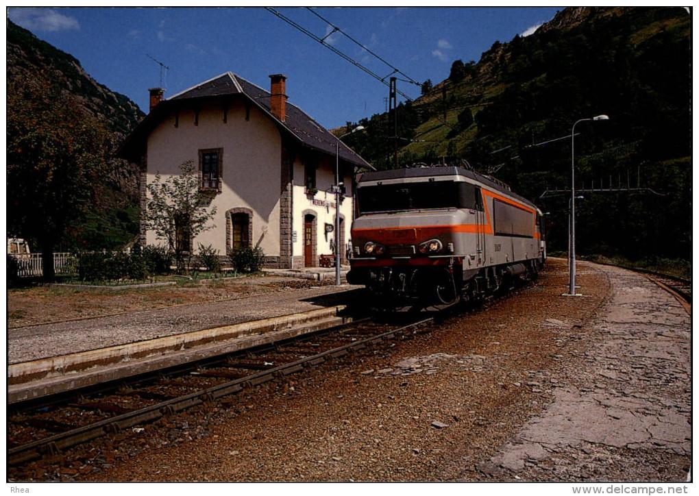 09 - MERENS-LES-VALS - Train - Locomotive - France