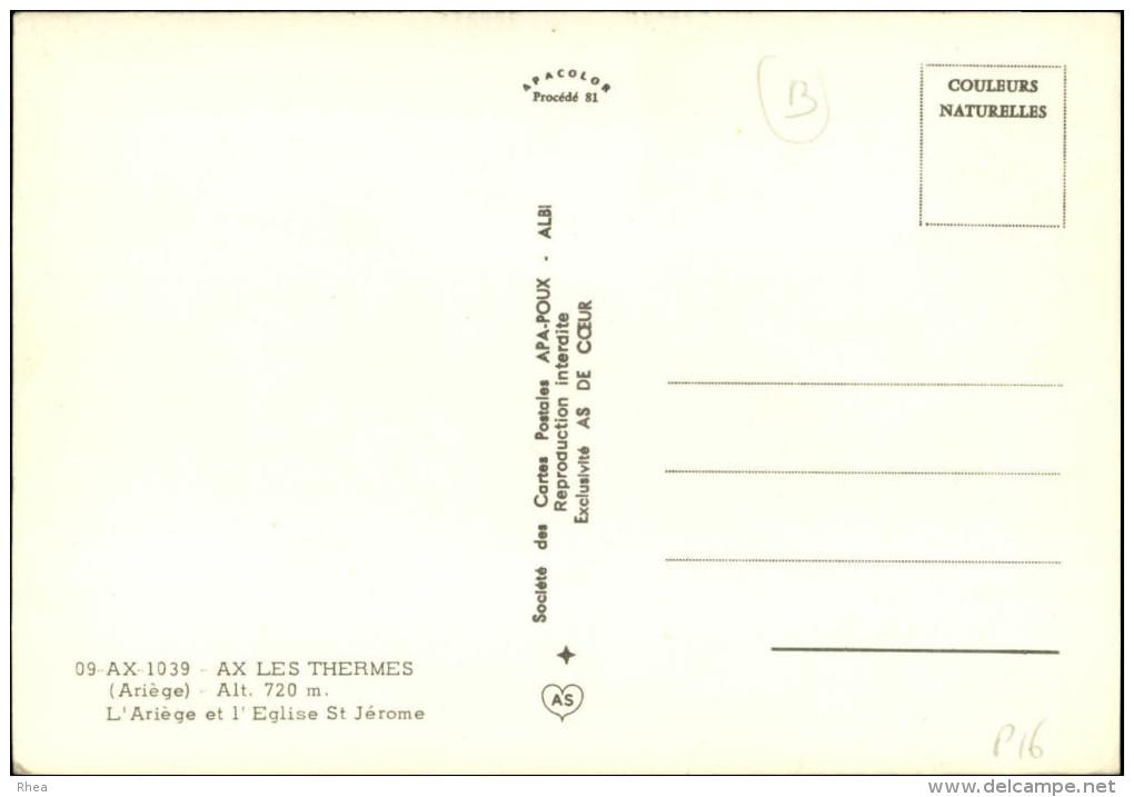 09 - AX-LES-THERMES - - Ax Les Thermes
