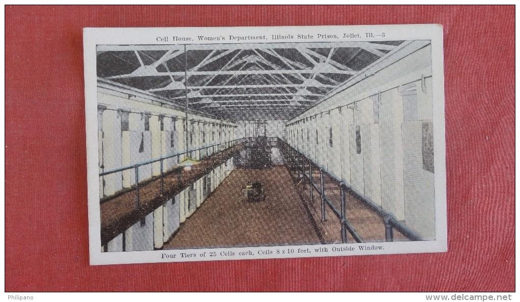 Women's Department  Illinois Prison Joliet Il    - Ref  2308 - Prison