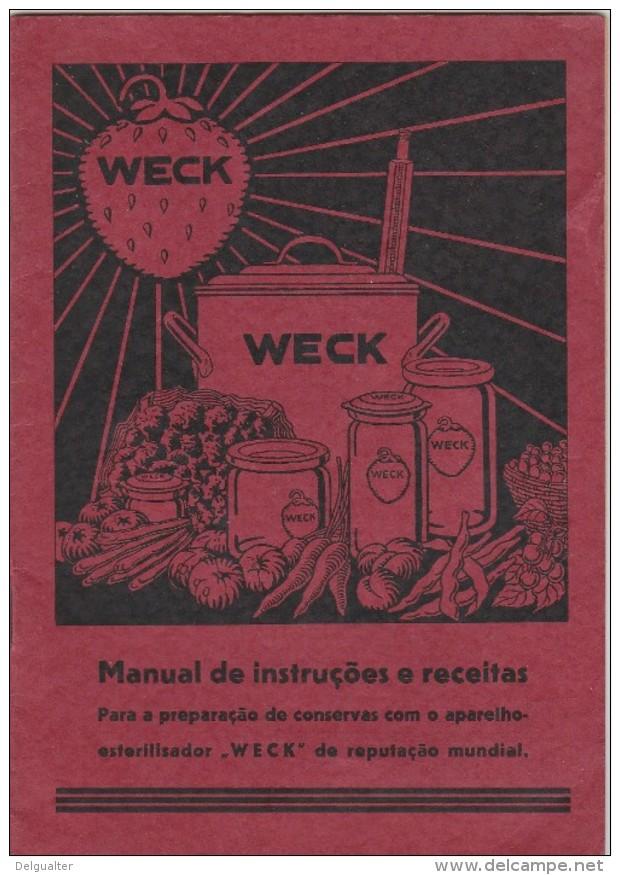 ''Weck'' - Manual De Instruções E Receitas - Reclame