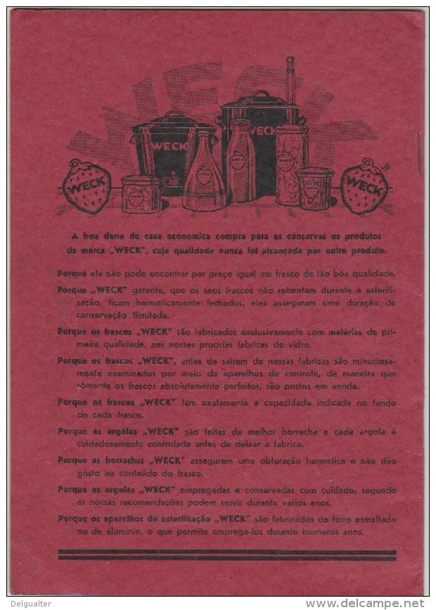 ''Weck'' - Manual De Instruções E Receitas - Advertising