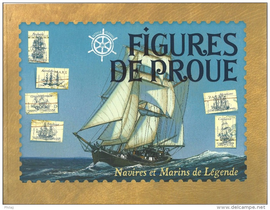 """Année 2008 Carnet """"Figure De Proue"""" édité Par La Poste Comprenant Les 6 Timbres Du Bloc """"bateaux Célèbres"""" (rare) - Carnets"""