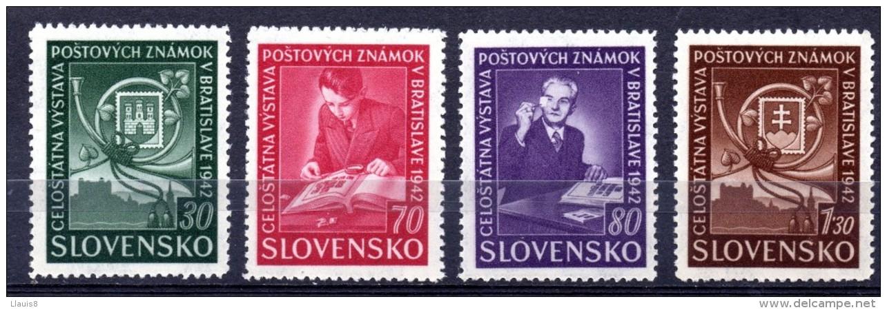ESLOVAQUIA. AÑO 1942. Mi 98/101 (MNH) - Unused Stamps