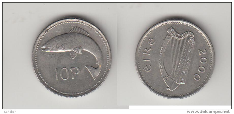 10 PENCE 2000 - Irlande