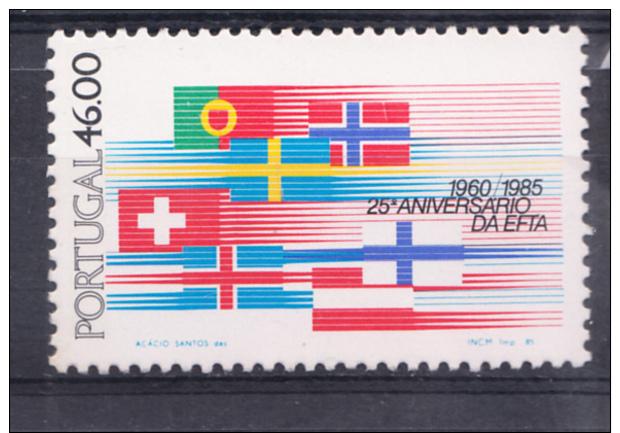 PORTUGAL 1985.AFINSA  Nº 1696. 25º ANIVERSARIO DA EFTA   SES348GRANDE - 1910-... República