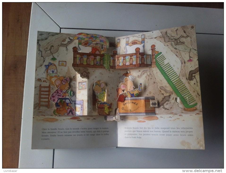 Ancien S´IL TE PLAIT, MERCI Un Livre Animé Style Pop Up NATHAN Illustré Par Susan Gay - Contes