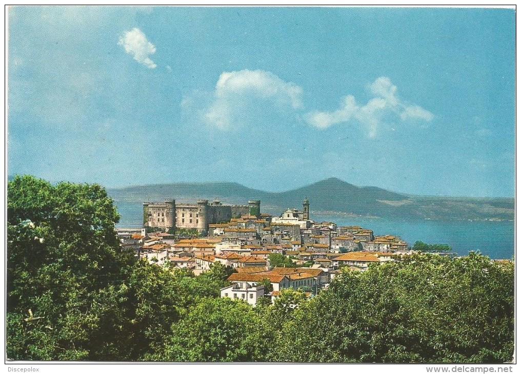 R1782 Bracciano (Roma) - Panorama Col Paese E Il Lago / Viaggiata 1974 - Altre Città