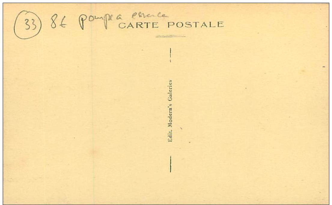 33.ARES.N°22646.BASSIN D'RCACHON.ROUTE DE BORDEAUX.GARAGE PAISSON MECANICIEN.POMPE A ESSENCE - Arès