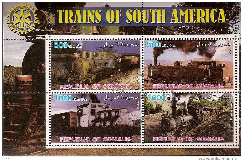 Somalia & Trains South America (35) - Eisenbahnen