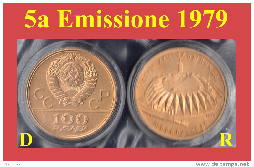 OLYMPIC GOLD COINS, MONETE ORO OLIMPIADI - CCCP, URSS, РОССИЯ, RUSSIA - MOSCOW - Russia