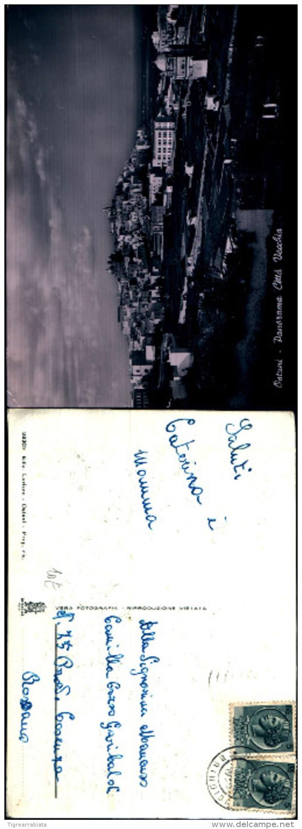 3054a)cartolina-ostuni Prov.di Brindisi Panorama Citta' Vecchia  Ed.lorizzo - Brindisi