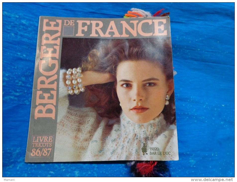 Catalogue De Laine Echantillons-bergere De France-livre Tricot 86/87 - Wool