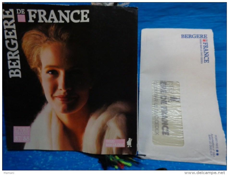 Catalogue De Laine Echantillons-bergere De France-livre Tricot 87/88 - Wool