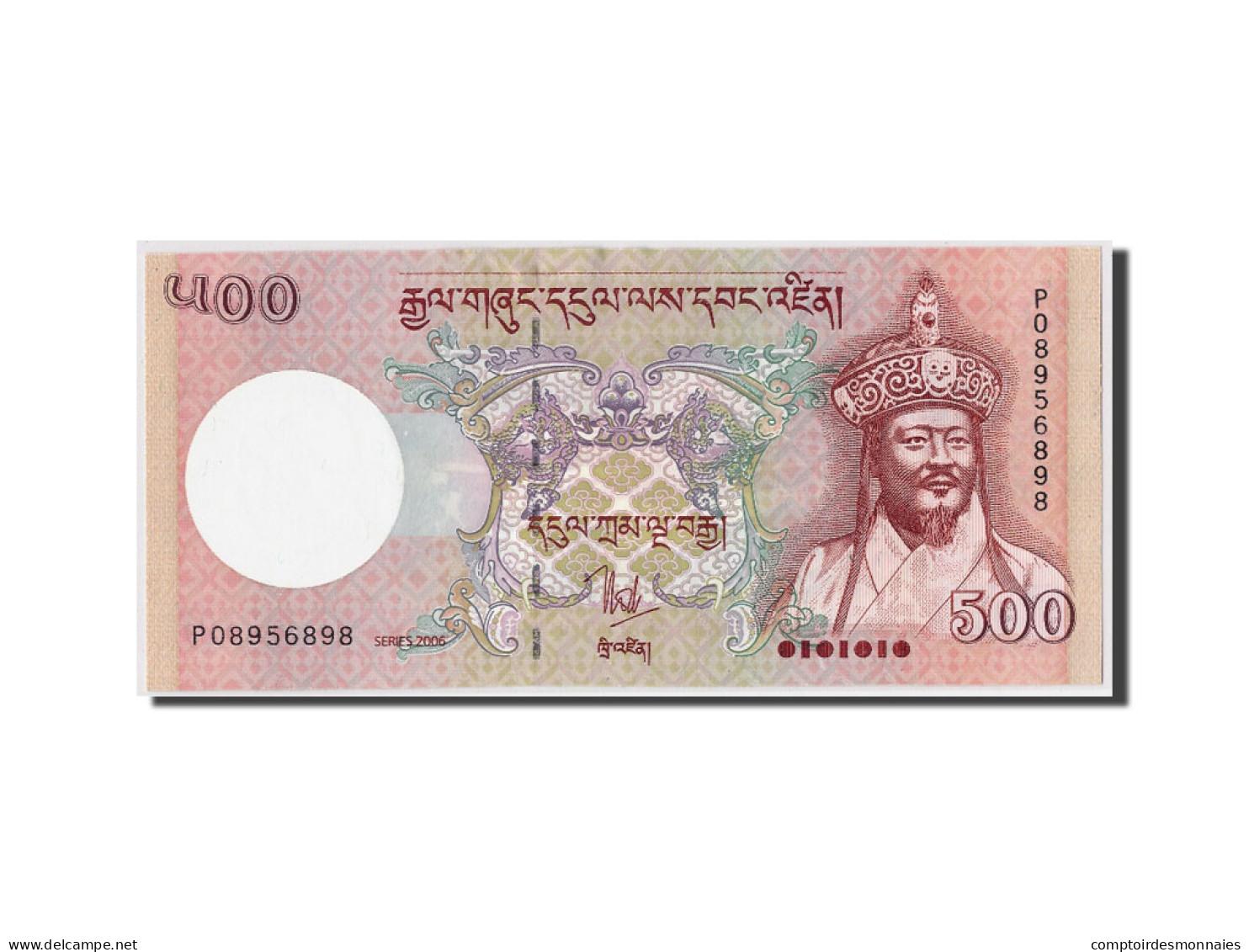 Bhoutan, 500 Ngultrum, 2006, KM:33a, NEUF - Bhoutan