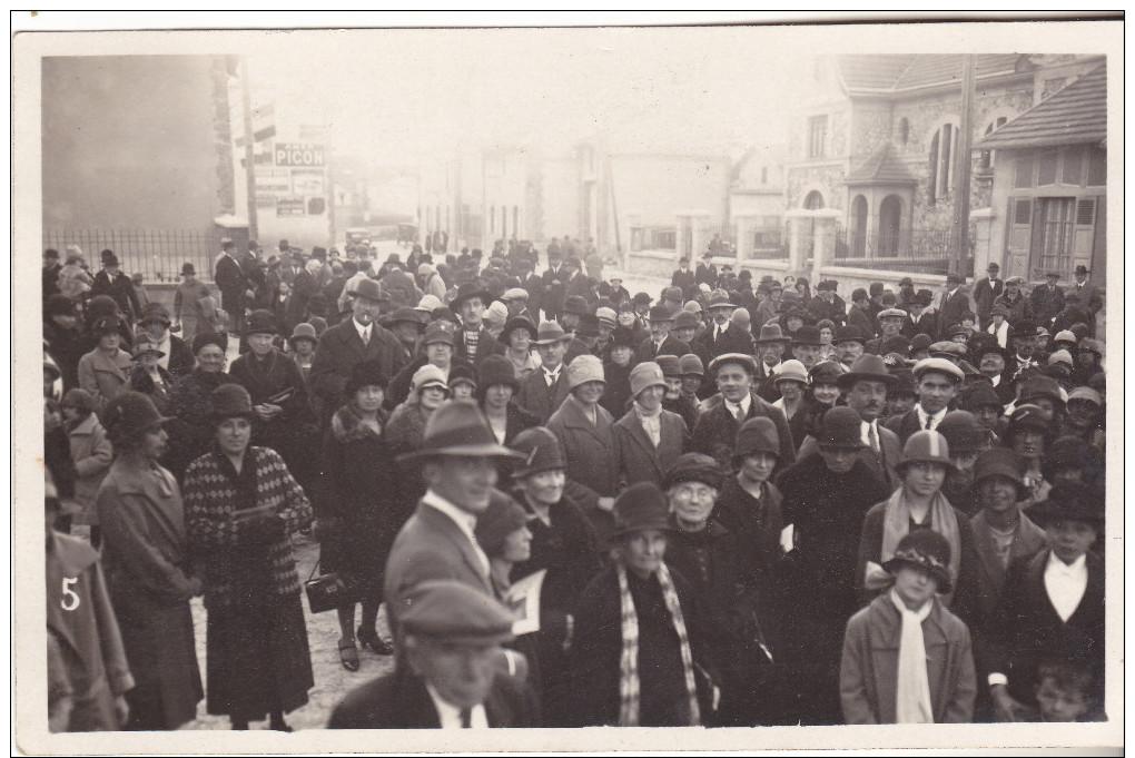 51 Beine - Inauguration église Du 16.10.1927. Carte Photo Maurice Cuisinier Reims. Tb état,non Circulée. - Autres Communes