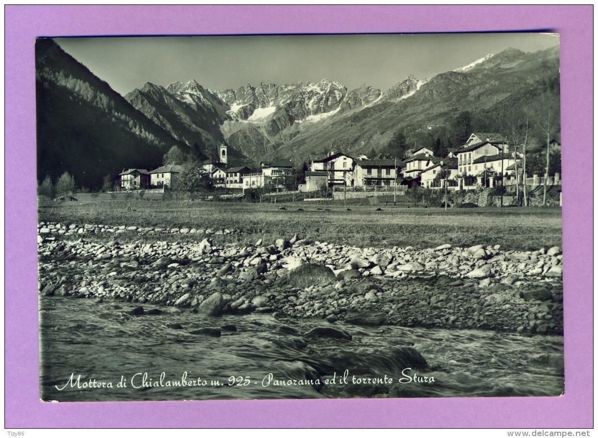 Mottera Di Chialamberto - Panorama Ed Il Torrente Stura - Italie