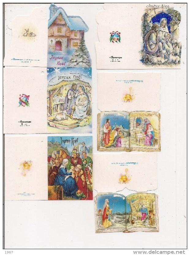 Saisons & Fêtes - Noël - Joli Lot De 13 Etiquettes Cadeau -  (toutes Différentes) - Noël