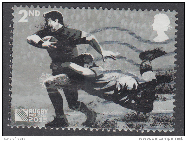 GREAT BRITAIN - 2015 Rugby World Cup 2015 - Tackle  2nd Used - 1952-.... (Elizabeth II)