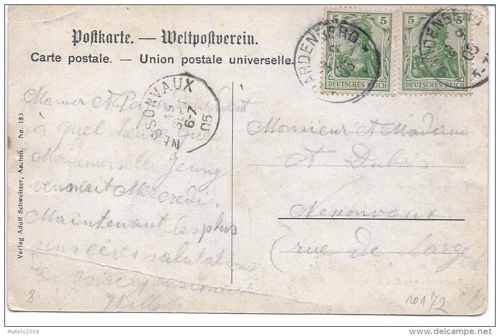 BARDENBERG - Restaurant - Tor Zur Ruine Wilhelmstein (léger Plis Dos ) - Allemagne
