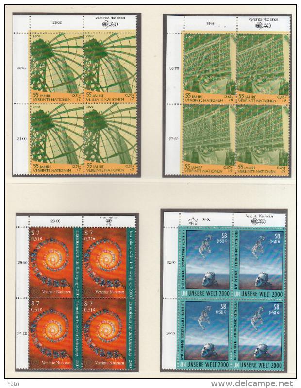 ONU (UNO) Vienna 2000 ** (2 Scan) - Wien - Internationales Zentrum