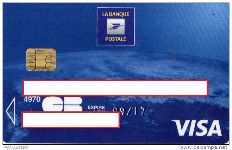 Cartes bancaires jetables - CARTE BANCAIRE LA BANQUE POSTALE Visa