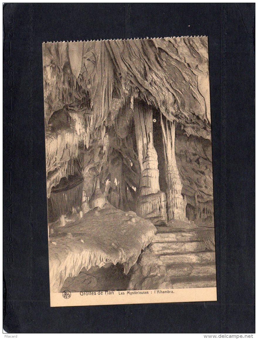 "63049   Belgio,  Grotte De Han,  Les Mysterieuses: L""Alhambra,  NV - Rochefort"