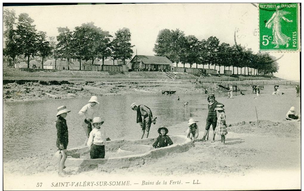 80-SAINT VALERY SUR SOMME-Bains De La Ferté - Saint Valery Sur Somme