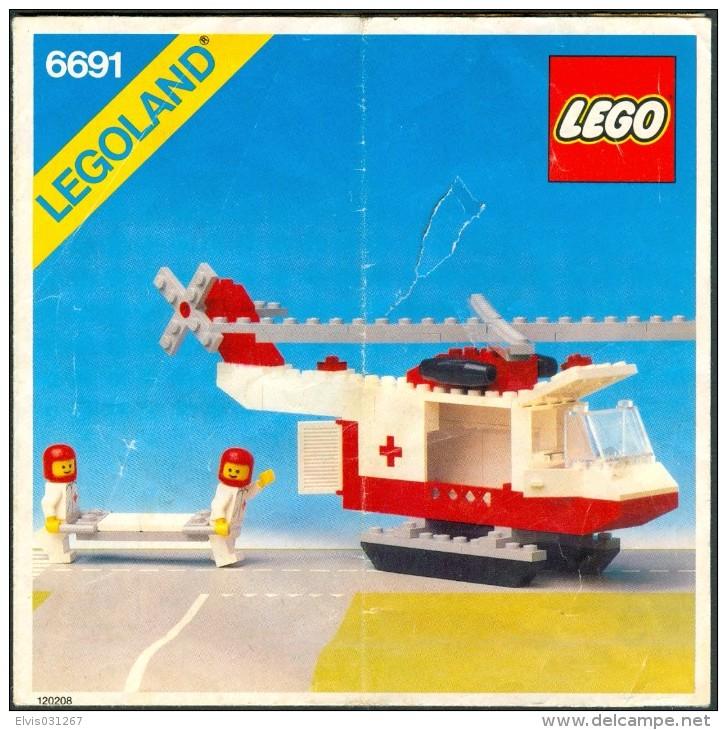 LEGO - 6691 INSTRUCTION MANUAL - Original Lego 1981 - Vintage - Kataloge