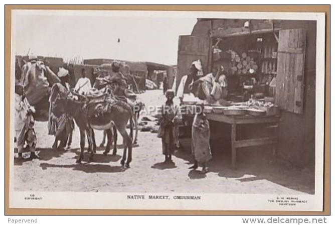 Sudan   OMDURMAN Native Market RP  Su121 - Soudan