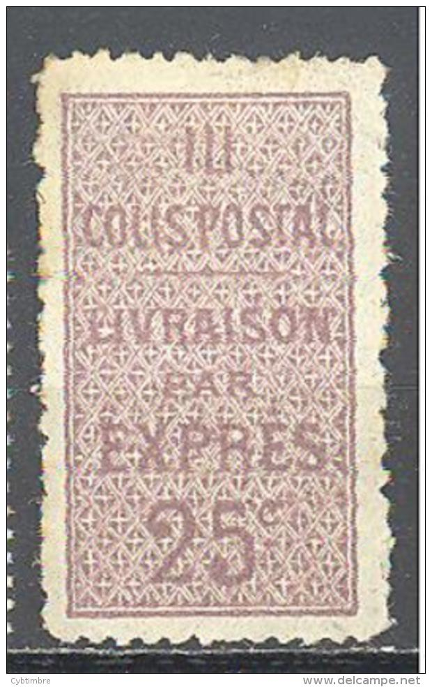 Algerie: Yvert N°Colis Postaux 6*; Cote 33.00€ - Algérie (1924-1962)