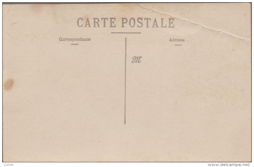 Région BORDEAUX-CARTE PHOTO-Atelier D'Artisan Tonnelier.... Divers...animé  (pli) - Cartes Postales