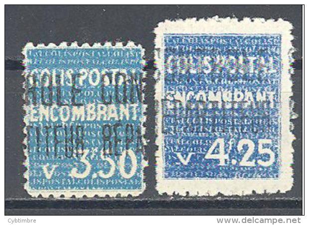 Algerie: Yvert N°Colis Postaux 40/1*; Cote 55.00€ - Algérie (1924-1962)