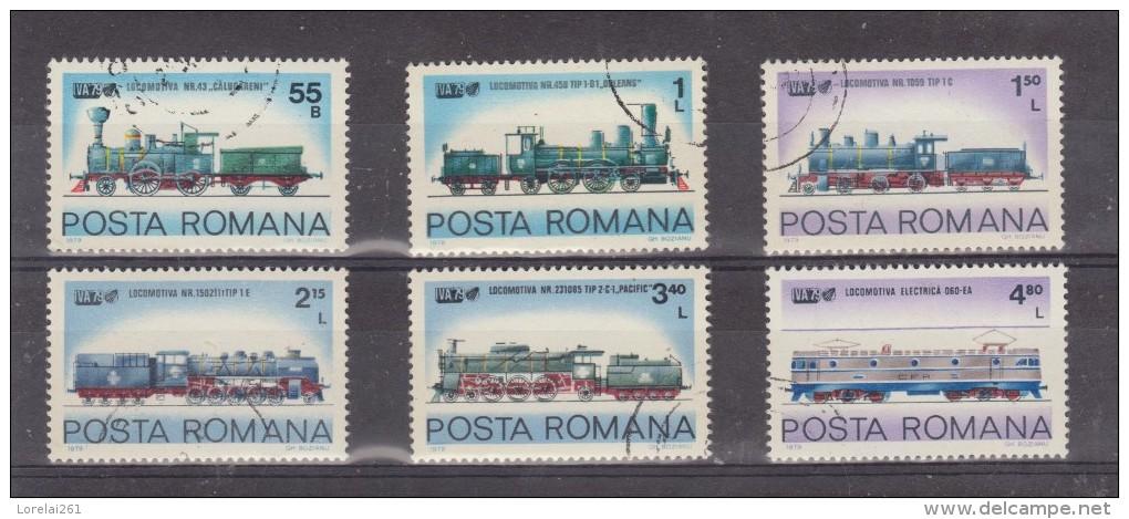 1979 - Expo Int. Des Transports IVA 79 HAMBOURG  Mi No 3674/3679 Et Yv No 3204/3209 - Gebraucht