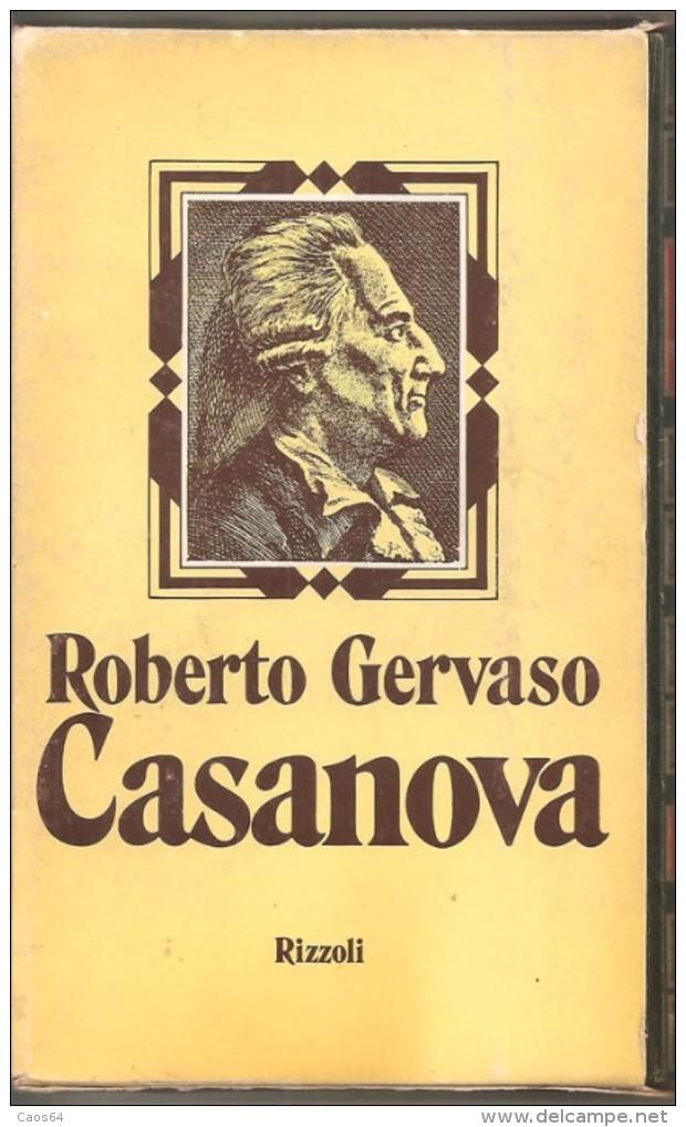 CASANOVA R. GERVASO  RIZZOLI - Histoire, Biographie, Philosophie