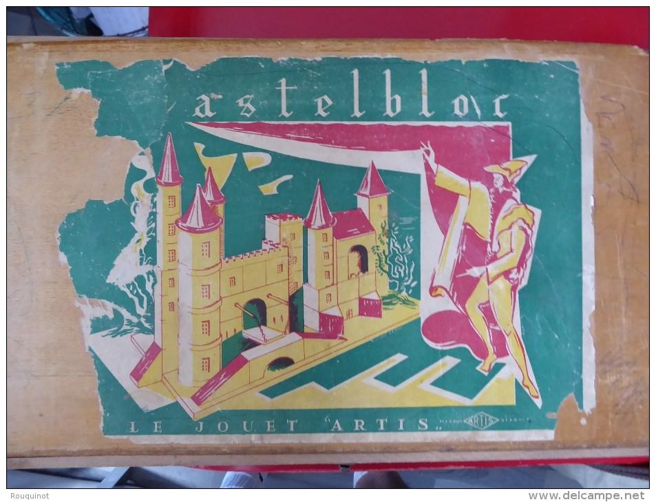 JEU DE CONSTRUCTION EN BOIS - CASTELBOX - LE JEUD ARTIS - - Autres Collections